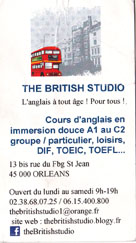 the british studio