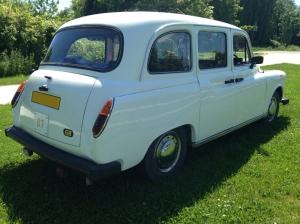 taxi blanc