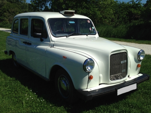 taxi blanc white cab